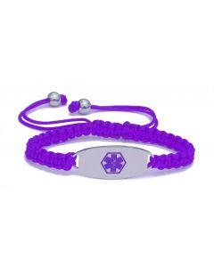Macramé-Purple